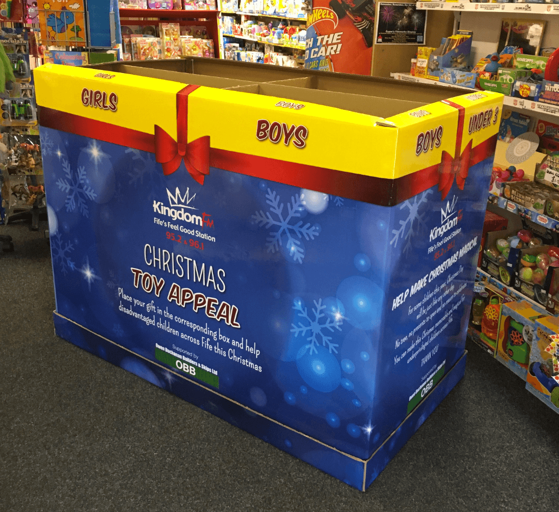 Kingdom FM Toy Appeal Fife